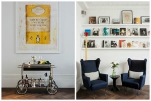 Laslett Hotel, Notting Hill Library and curated walls