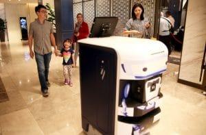 TUG Wayfinding robot